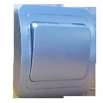 Выключатель 1кл с/п синий Makel 30001
