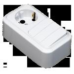 Блок 3В-РЦ-531 3кл.+роз.зк белый Светоприбор