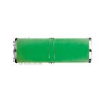 Светильник VIRGO 81 15 B зеленый (40x15)