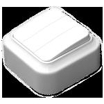 Выключатель А056-137 3кл о/п белый Светоприбор