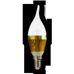 Лампа светодиодная Linel BF 4.5W/LED3x1/833 E14 A(G)