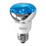 Лампа светодиодная R63 220V/LED20/blue E27
