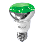 Лампа светодиодная R63 220V/LED20/green E27