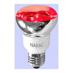 Лампа светодиодная R63 220V/LED20/red E27